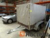 Trailer double axle built without visible make