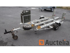 Trailer Motorcycle Holder