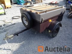 Trailer Single Axle SARIS rack