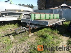Trailer Triple axles P.O. Trail trailer 3500