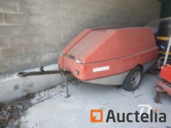 Trailer with fire pump Sides MPR 1015 RE