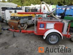 Trailer with water canon and tank Plastisol 500 l. - REF599