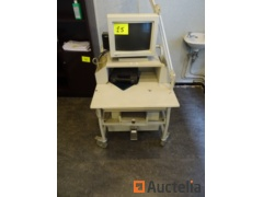 Trolley with screen NICOLET