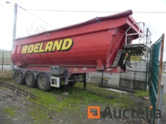 Turbo's Hoet OPK/3AT/39/03BSRM Tipper for semi-trailer