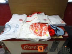 Various Coca-Cola clothing
