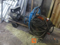 Welding machine, Karcher cold water on trolley