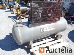Wheel Compressor 500l BROWN CR507 + S